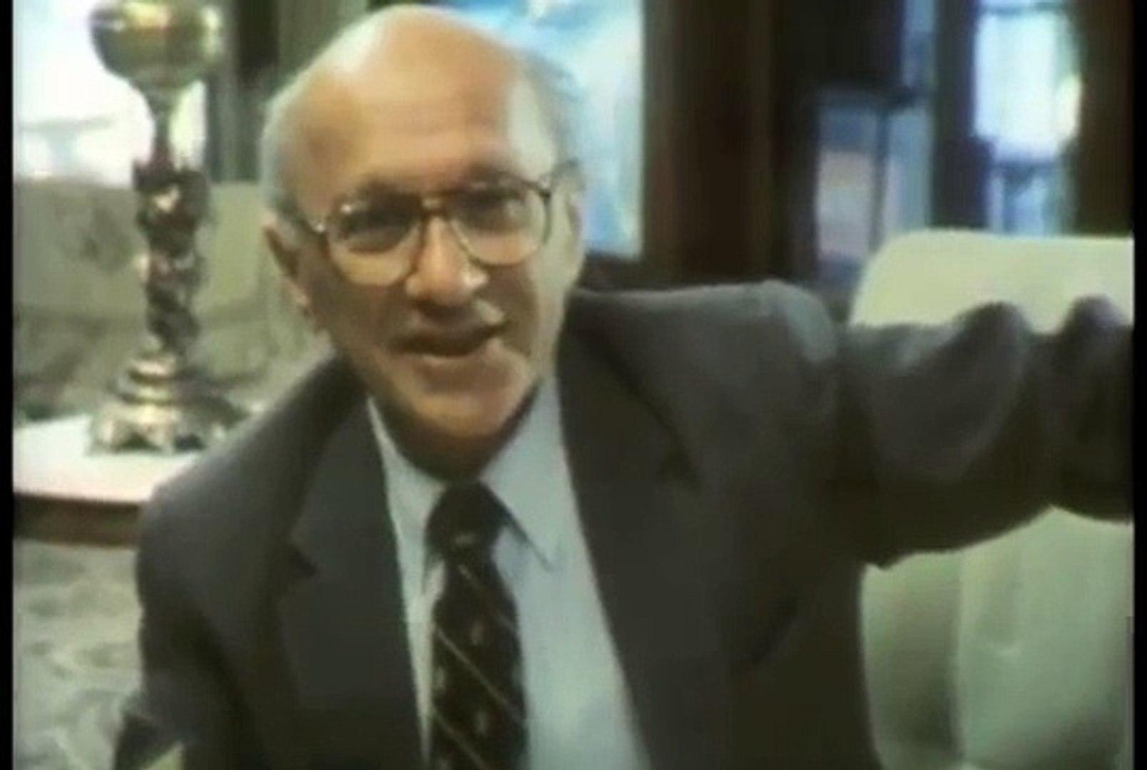 Milton Friedman - Politics and Regulation