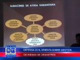 N11 Informativo DEFENSA CIVIL ORIENTA SOBRE GESTION DEL RIESGO DE DESASTRES