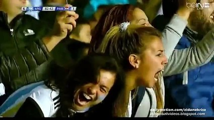 Copa America 2015: Gonzalo Higuaín Goal Argentina 6-1 Paraguay