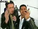 "Gad Elmaleh et Jamel Debbouze parodie ""1,2,3 soleil"""