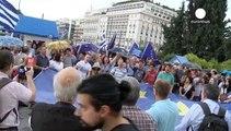 Athen: Zehntausende für Europa und gegen Tsipras
