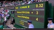 Sloane Stephens vs Barbora Strycova WIMBLEDON R1 2015