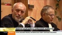 Lubomír Zaorálek - řeč u jednání Ústavního soudu o církevních restitucích