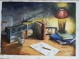 aquarelle ,peinture ,watercolor ,painting , serusier dominique