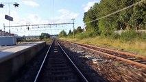 Trainsurfing / Tågsurfning Stockholm - X60 @ Spånga - Sundbyberg