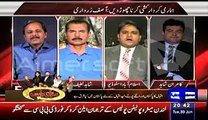 Chaudhry Fawad Takes Class of Anchor Mazhar Abbas In A Live - Watch Mazhar Abbas's Reaction