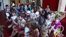 Brumisateurs, éventails et jets d'eau... les écoles maternelles s'adaptent à la canicule