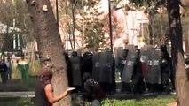 MX México Batalla Campal, detenciones y agresiones protestas contra Peña Nieto.