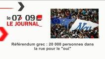 Journal de 8h00 du 1er juillet 2015