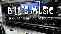 Beginners Guitar Learning Resource Using Guitar Tabs and Backing Tracks