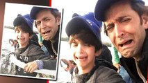Hrithik Roshan CRIED With Son in South Africa ! Photo Goes