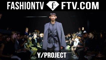 Y/ Project Spring/Summer 2016 | Paris Men's Fashion Week | FashionTV