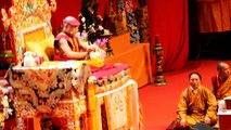 Le dalaï lama en Suisse à Lausanne, enseignement et interview -  par Régis Colombo / www.diapo.ch
