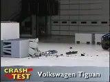 Crash Test 2009 - 2011 Volkswagen Tiguan (Frontal Impact) IIHS