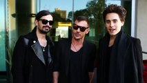 """Greetings to Latvia from """"30 Seconds to Mars""""!"""
