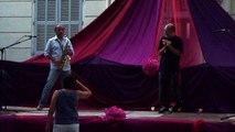 """""""So What"""" par  Remi Gaillard (harmonica) et André le Corre (saxophone),  le 27 06 2015"""