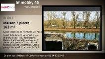 A vendre - maison - SAINT PIERRE LES NEMOURS (77140) - 7 pièces - 162m²
