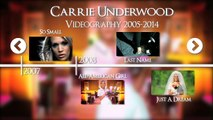 Carrie Underwood Interactive Video Timeline 2005-2014 | Sony Nashville UK