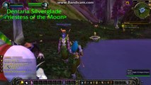 World of Warcraft level 1 - 100 night elf druid