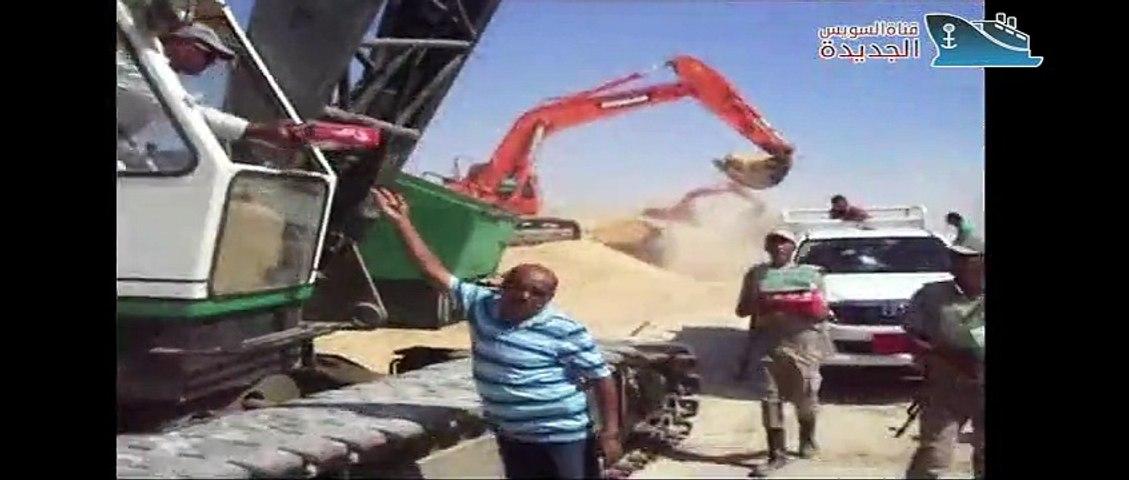 New Suez-Kanal: Die Herausforderung der Menschen und die Entscheidung des Präsidenten Sisi 2014- 2015