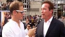 Mashable talks to Arnold Schwarzenegger at Terminator: Genisys premiere
