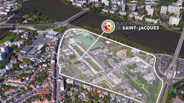 Le futur CHU de Nantes