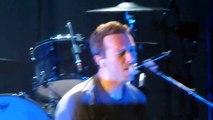 Chris Martin of Coldplay singing White Christmas