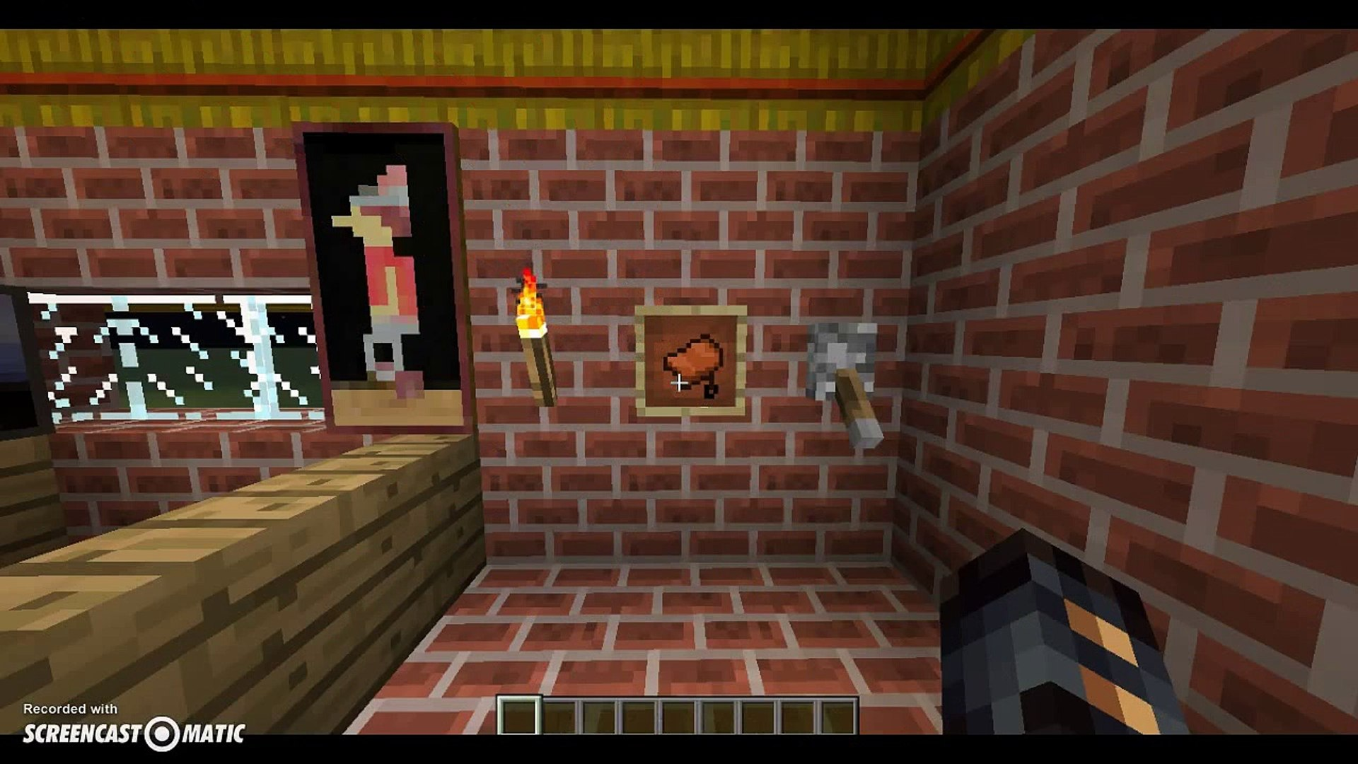 How To Make A Saddle In Minecraft Pc Video Dailymotion