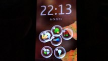 Nokia Bubbles app. on Nokia N8-00 Symbian^3
