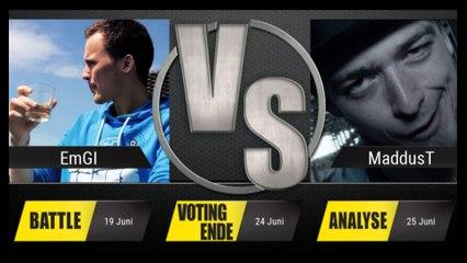 JBB 2015 [8tel-Finale 1/8] - EmGi vs. MaddusT [ANALYSE]