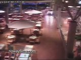 Man drives SUV through Mall, then gets Beat by Cops