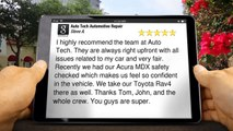 Excellent Auto Repair by Auto Tech Automotive Repair El Cajon (619) 588-5742