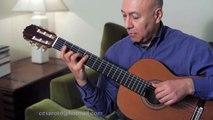 Sabor a Mi Bolero - Solo Guitar Cesar - Tutorial - Video shot and edited by John Aparicio