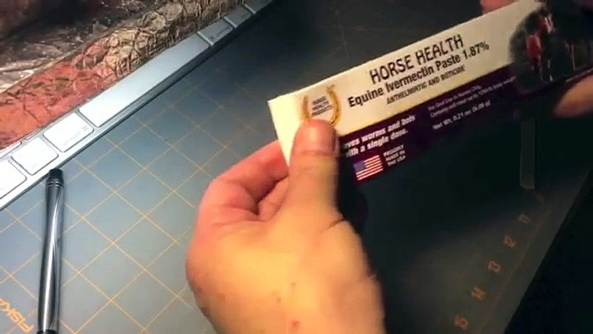 How to measure ivermectin horse paste doses: simple!