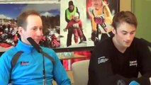 Lukas Bauer and Petter Northug jr. press conference Falun