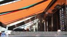 Canicule: Paris va flirter avec les 40 degrés