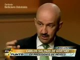 Entrevista del Ex-Presidente Carlos Salinas de Gortari