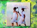 La inspiración caribeña llena de color el arte de Adrián Gómez