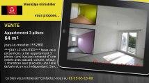 Vente - appartement - Jouy-le-moutier (95280)  - 64m²