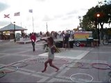 Key West Hoopdance Busking 10.30.12