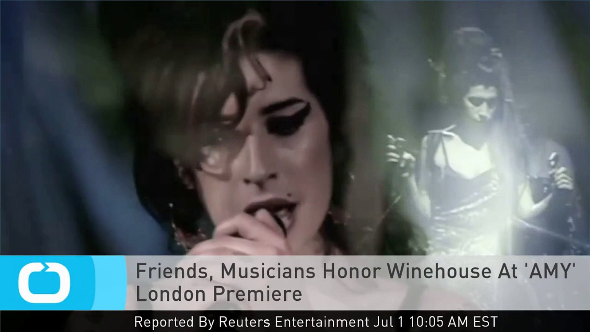 Friends, Musicians Honor Winehouse At 'AMY' London Premiere