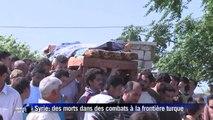 Syrie: combats entre armée et rebelles à la frontière turque