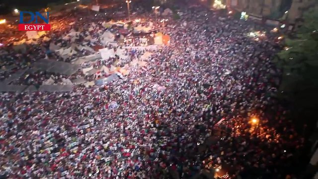 Tahrir Square on 30 June