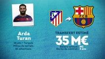 Officiel : Arda Turan quitte l'Atlético et signe au Barça !
