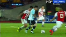 Lionel Messi Goal Argentina 2 - 0 Paraguay - Copa America