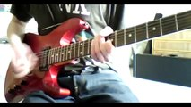 Pink Floyd - On The Turning Away - guitar solo cover