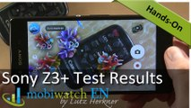 Sony Xperia Z3+ Test Results: Battery, CPU, Overheating, Games
