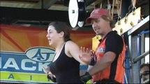 Amanda Goes Bungy Jumping at A.J. Hackett, Cairns!