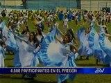 Pregón abre las fiestas julianas y da la bienvenida al Papa