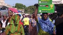Le président français François Hollande entame mercredi soir une tournée africaine en commençant par le Bénin. A Cotonou, la capitale du Bénin, sa venue suscite des espoirs de croissance. Durée 01:16